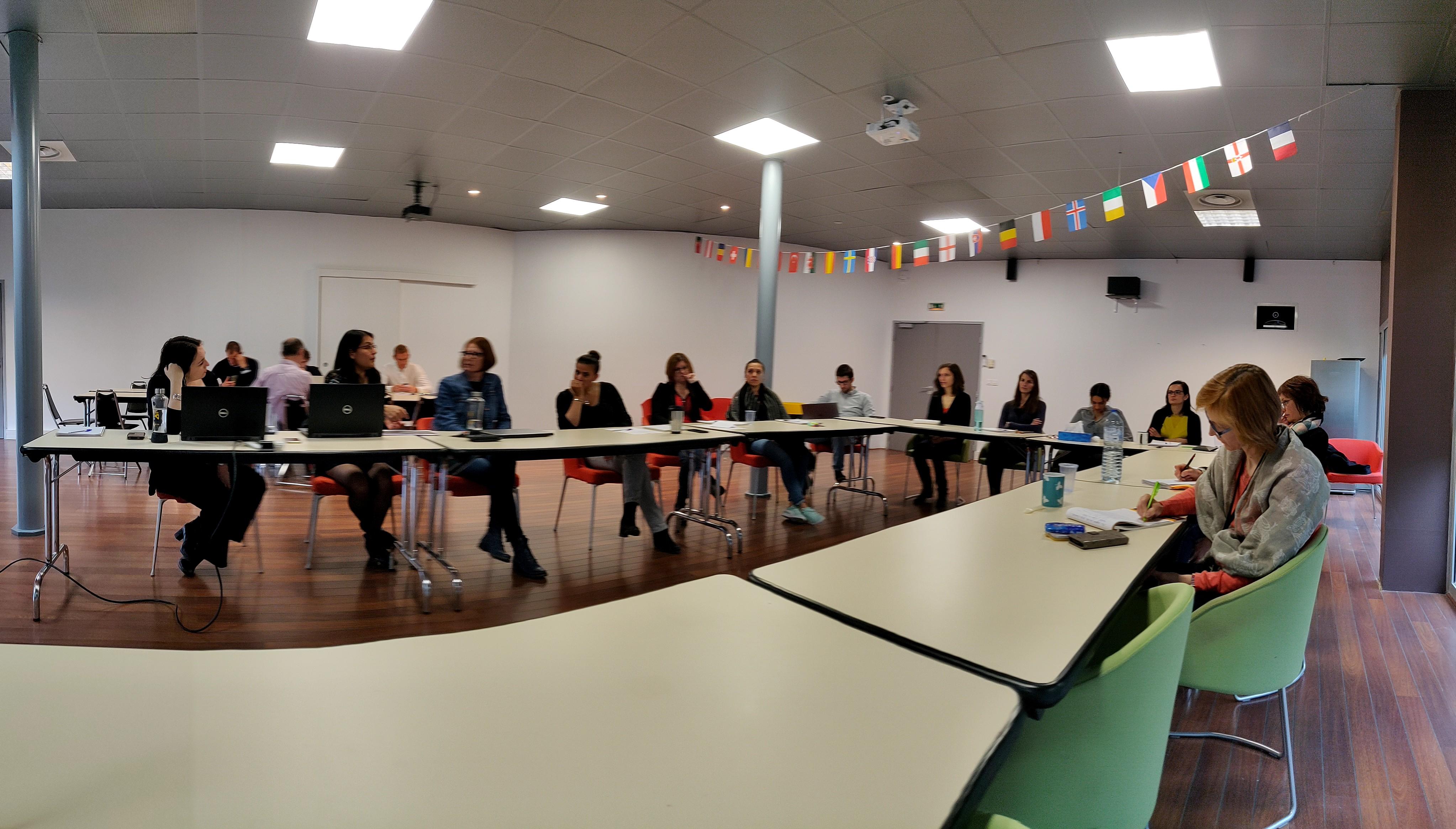L'équipe ADV en réunion